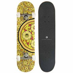 "JUCKER HAWAII Skateboard PERKY PIZZAS 7.75"" Complete"