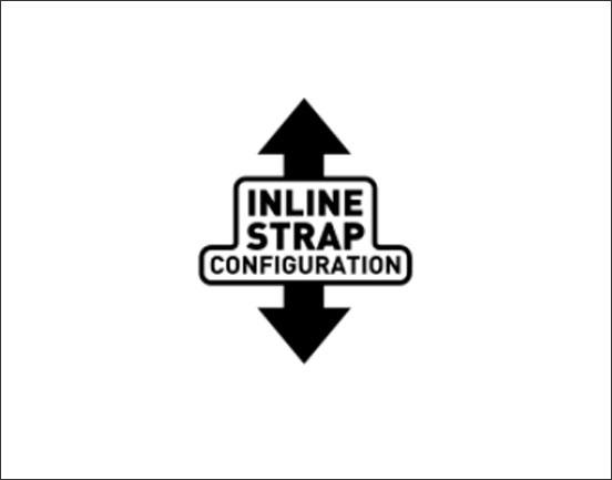 Cabrinha Inline Strap Technologie