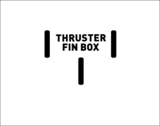 Cabrinha Thruster Fin Box