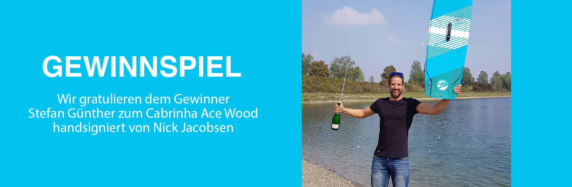 Gewinner Cabrinha Ace Wood