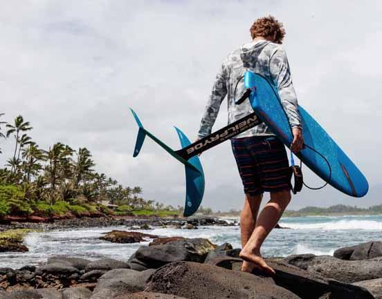 JP Australia Prone CSE Foilboard Lifestyle