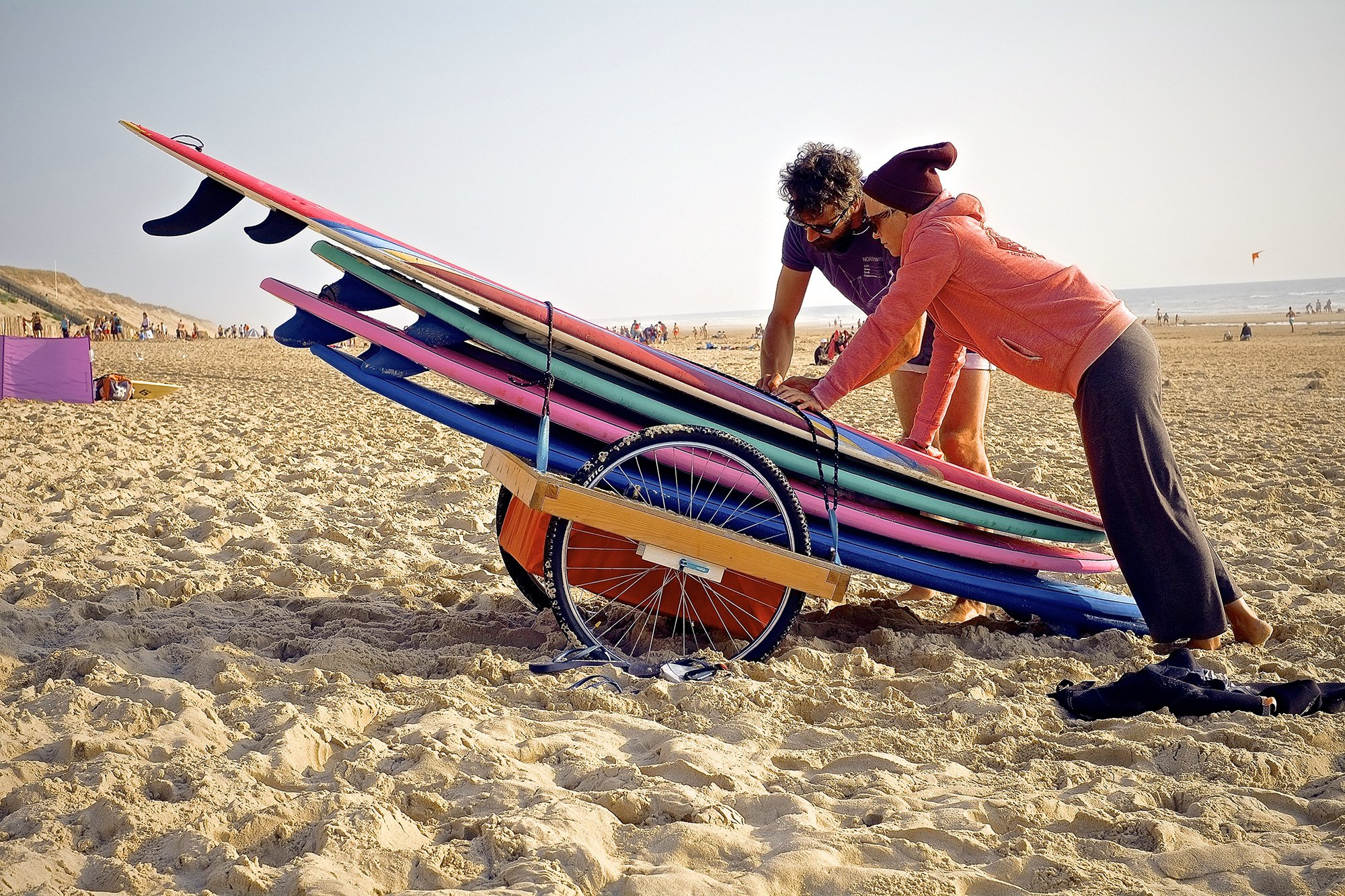 Reacha beach 24 in action