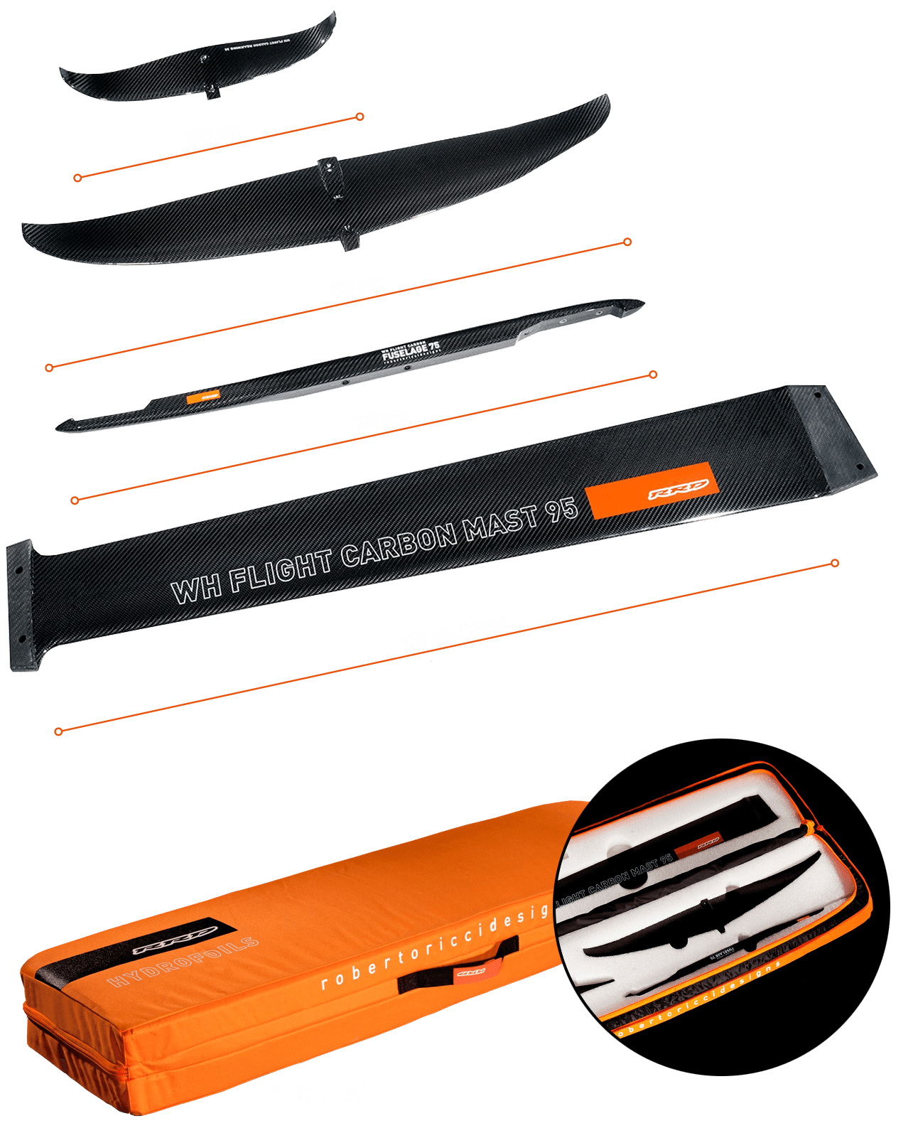 RRD WH Comp Carbon Zubehör